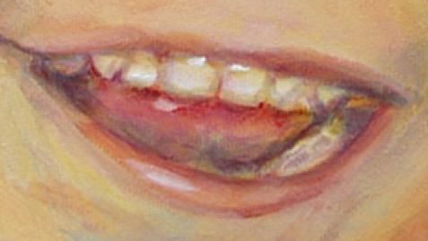 tanden schilderen