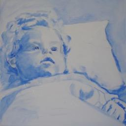 Lida Meines portret fase 2