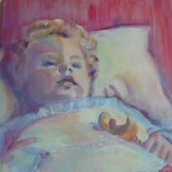 Lida Meines portret fase 5
