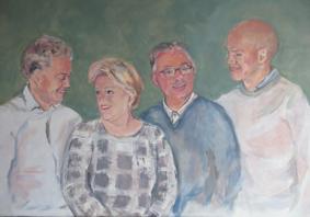 Lida Meines portret gezin 5