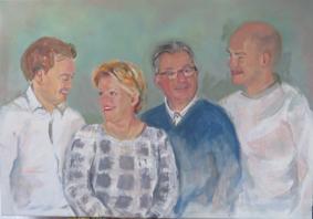 Lida Meines portret gezin 7