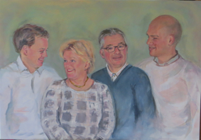 Lida Meines portret gezin 8