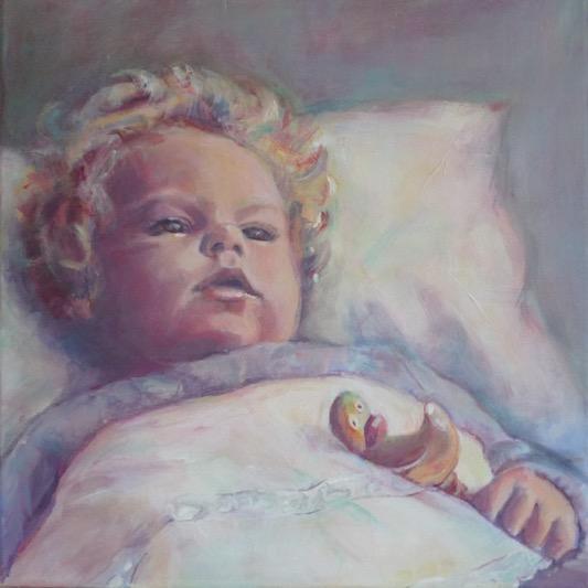Lida Meines portretschilderij