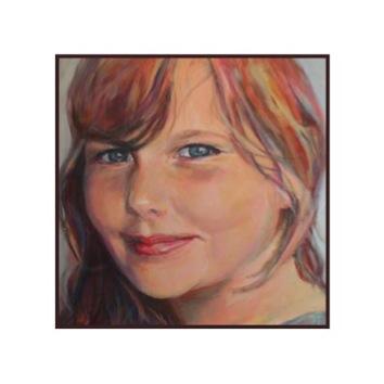 portretschilderij linda 11